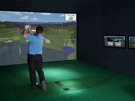 Simulateur de golf Sportscoach