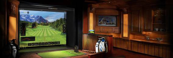 Simulateur de golf Sportscoach