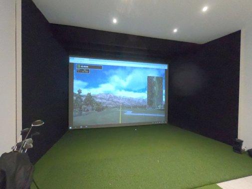 Structure de simulateur de golf Eden-Golf