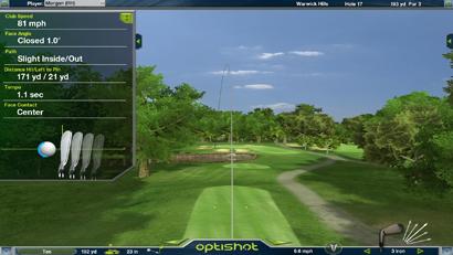 Simulateur de golf Optishot 2 screenshot