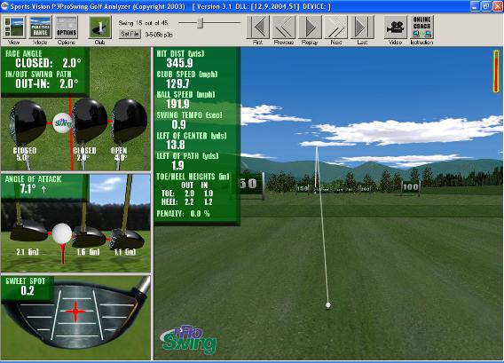 Simulateur de golf P3Pro