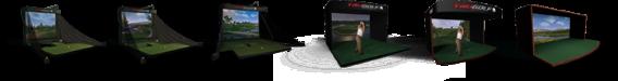 Simulateur de golf TRUGOLF
