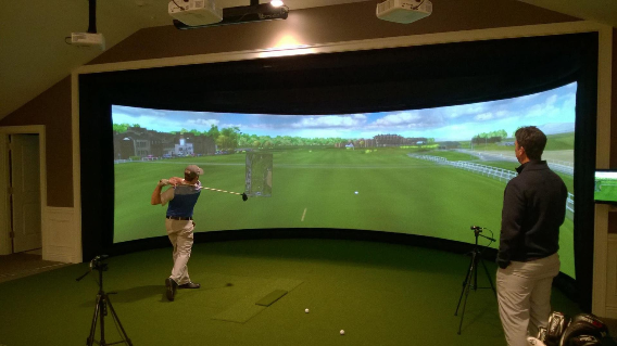 Simulateur de golf About Golf